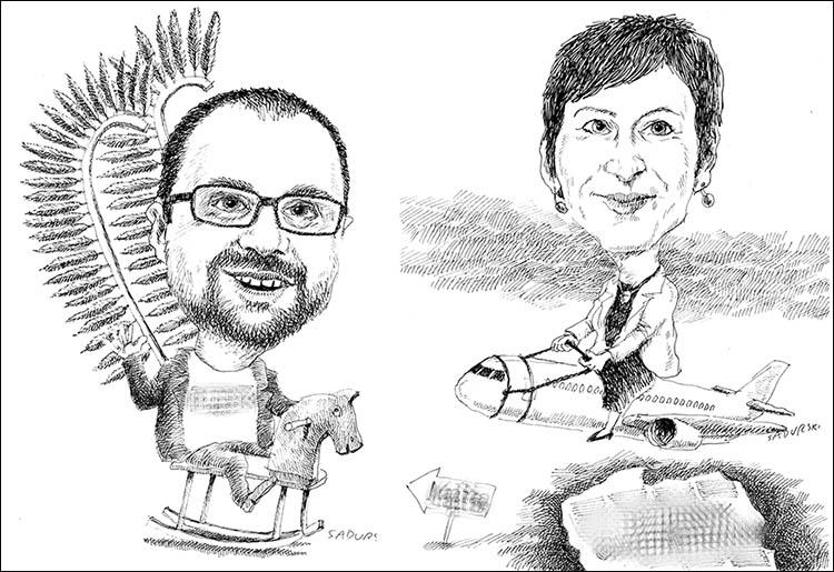 karykatura na prezent karykatury karykaturzysta