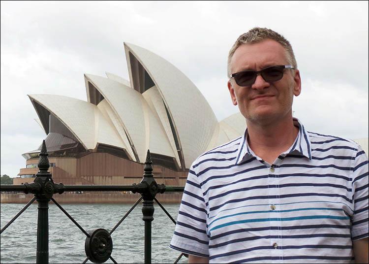 karykaturzysta Sydney Australia