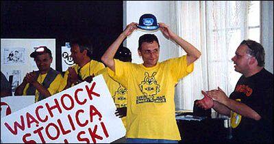 Partia Dobrego Humoru-Gdańsk 2001 Skiba Sadurski