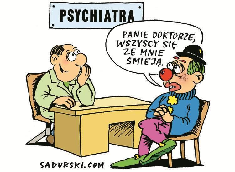 psychiatra dowcipy o psychiatrach kawały psychiatrzy