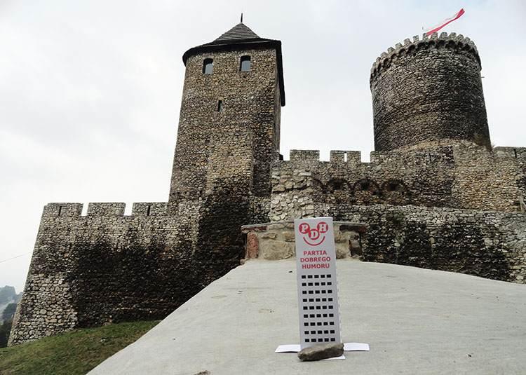 Będzin ciekawostki zamek podróż wycieczka