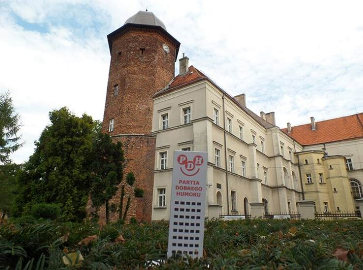 Koźmin Wielkopolski zamek podróż ciekawostki