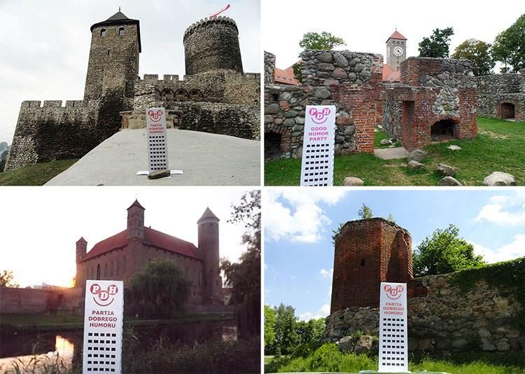 Polska podróże po Polsce Wesoły Wieżowiec