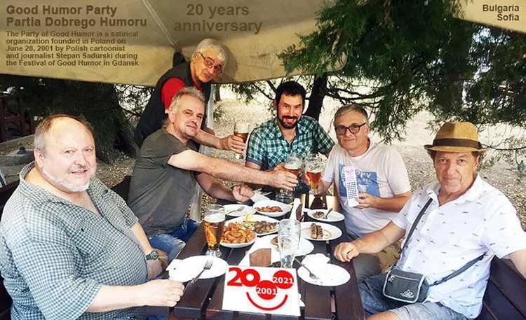 Partia Dobrego Humoru Bułgaria Good Humor Party Bulgaria